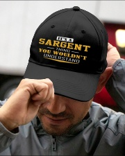 SARGENT - Thing You Wouldnt Understand Embroidered Hat garment-embroidery-hat-lifestyle-01