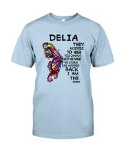 Delia  - Im the storm VERS Classic T-Shirt tile