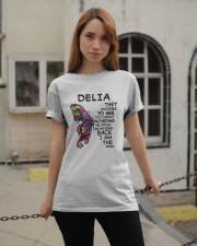 Delia  - Im the storm VERS Classic T-Shirt apparel-classic-tshirt-lifestyle-19