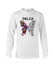 Delia  - Im the storm VERS Long Sleeve Tee thumbnail