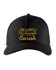 sarah - Im awesome Embroidered Hat front