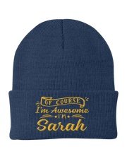 sarah - Im awesome Knit Beanie thumbnail