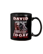 David - IDGAF WHAT YOU THINK M003 Mug front