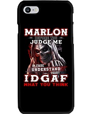 Marlon - IDGAF WHAT YOU THINK M003 Phone Case tile