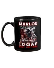 Marlon - IDGAF WHAT YOU THINK M003 Mug back