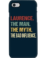 Laurence The man The myth The bad influence Phone Case thumbnail