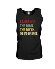 Laurence The man The myth The bad influence Unisex Tank thumbnail