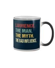 Laurence The man The myth The bad influence Color Changing Mug thumbnail