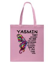 Yasmin - Im the storm VERS Tote Bag tile
