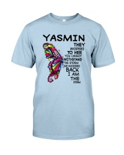 Yasmin - Im the storm VERS Classic T-Shirt tile