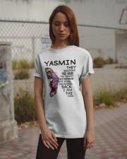 Yasmin - Im the storm VERS Classic T-Shirt apparel-classic-tshirt-lifestyle-18