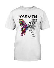 Yasmin - Im the storm VERS Classic T-Shirt front