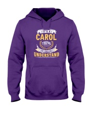 Carol - thing you wouldnt understand M002 Hooded Sweatshirt thumbnail