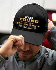YOUNG - Thing You Wouldnt Understand Embroidered Hat garment-embroidery-hat-lifestyle-01
