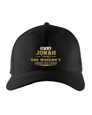 JONAH - THING YOU WOULDNT UNDERSTAND Embroidered Hat front
