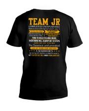 Team Jr - Completely Unexplainable V-Neck T-Shirt thumbnail