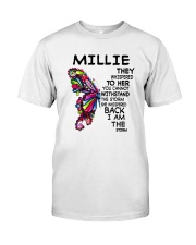 Millie - Im the storm VERS Classic T-Shirt front