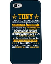 Tony - Completely Unexplainable Phone Case thumbnail