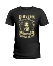 PRINCESS AND WARRIOR - Kirsten Ladies T-Shirt front