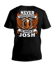Never underestimate the power of Josh V-Neck T-Shirt thumbnail
