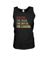 THE LEGEND - Austin Unisex Tank thumbnail