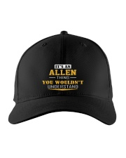 ALLEN - THING YOU WOULDNT UNDERSTAND Embroidered Hat front