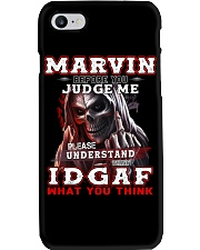 Marvin - IDGAF WHAT YOU THINK  Phone Case thumbnail