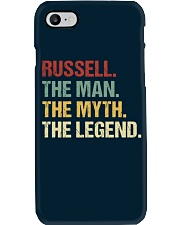 THE LEGEND - Russell Phone Case thumbnail
