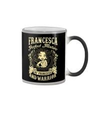PRINCESS AND WARRIOR - Francesca Color Changing Mug thumbnail