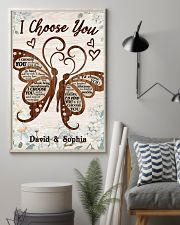 I CHOOSE YOU BUTTERFLIES PERSONALIZED GIFT 24x36 Poster lifestyle-poster-1