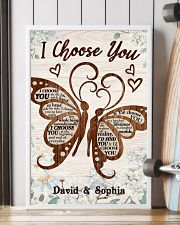 I CHOOSE YOU BUTTERFLIES PERSONALIZED GIFT 24x36 Poster lifestyle-poster-4