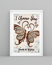 I CHOOSE YOU BUTTERFLIES PERSONALIZED GIFT 24x36 Poster lifestyle-poster-5