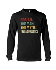 Dorian The man The myth The bad influence Long Sleeve Tee thumbnail
