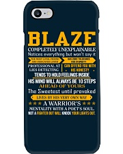 Blaze - Completely Unexplainable Phone Case tile