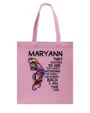 Maryann - Im the storm VERS Tote Bag tile
