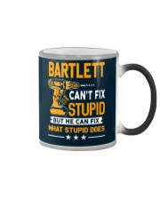 BARTLETT - FIX WHAT STUPID DOES Color Changing Mug thumbnail