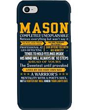 Mason - Completely Unexplainable Phone Case thumbnail