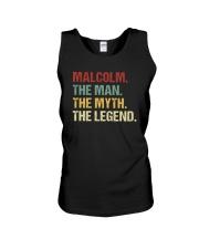 THE LEGEND - Malcolm Unisex Tank thumbnail