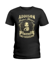 PRINCESS AND WARRIOR - ADDISON Ladies T-Shirt front