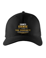 ERNIE - THING YOU WOULDNT UNDERSTAND Embroidered Hat front