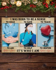 I WAS BORN TO BE A NURSE 36x24 Poster aos-poster-landscape-36x24-lifestyle-24