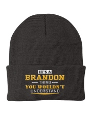 BRANDON - Thing You Wouldn't Understand Knit Beanie tile
