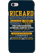Richard - Completely Unexplainable Phone Case thumbnail