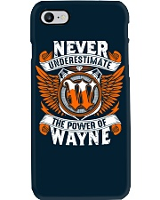 NEVER UNDERESTIMATE THE POWER OF WAYNE Phone Case thumbnail