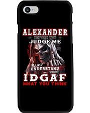 Alexander - IDGAF WHAT YOU THINK M003 Phone Case thumbnail