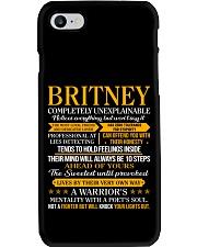 Britney - Completely Unexplainable Phone Case thumbnail