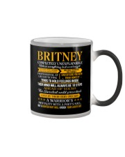 Britney - Completely Unexplainable Color Changing Mug thumbnail