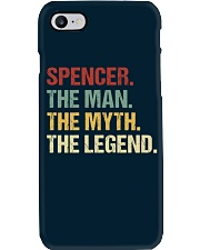 THE LEGEND - Spencer Phone Case thumbnail