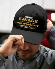 SAVAGE - Thing You Wouldnt Understand Embroidered Hat garment-embroidery-hat-lifestyle-01
