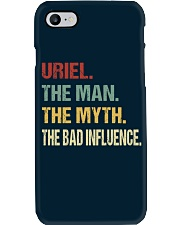 Uriel The man The myth The bad influence Phone Case thumbnail